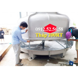 Tháp giải nhiệt Tashin 200RT lắp đặt tại Hồ Chí Minh