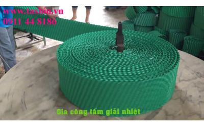 Màng giải nhiệt,filling PVC cho tháp giải nhiệt,thay tấm giải nhiệt