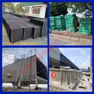Tấm tản nhiệt PVC vuông tại Hà Nội