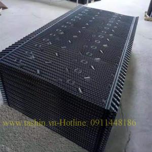 Lắp đặt tấm giải nhiệt vuông tại Hà Nội