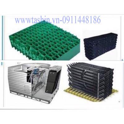 Tấm tản nhiệt PVC 400x375mm - filling tháp giải nhiệt vuông