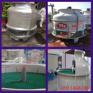 Tháp giải nhiệt nước 20-30RT cho máy làm đá
