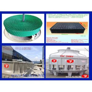 Tháp giải nhiệt  - cấu tạo và chức năng của các linh kiện