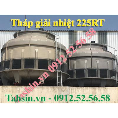 Tháp giải nhiệt nước 225RT lắp đặt tại Đà Nẵng