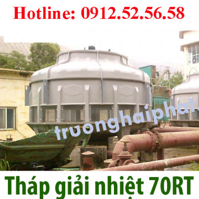 Lặp đặt Tháp giải nhiệt Tashin 70RT