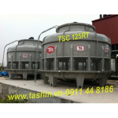 Tháp giải nhiệt nước tashin 125RT tại Hà Nội