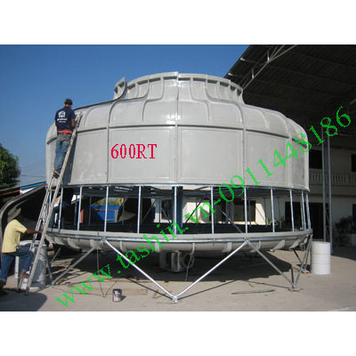 Tháp giải nhiệt nước 600RT - Nhận phân phối lắp đặt toàn quốc