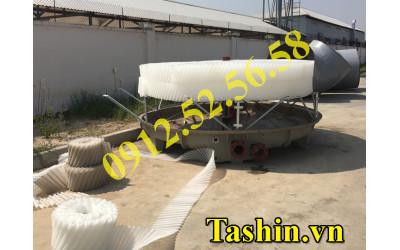Lắp đặt tháp giải nhiệt cho nhà máy sản xuất tấm Aluminum (nhôm nhựa)